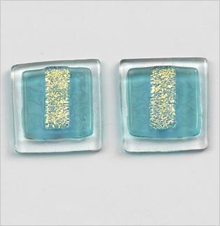 Aquamarine Clip Earrings