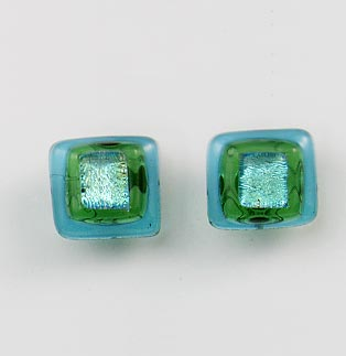 Island Blue Post Earrings